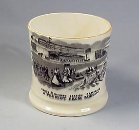 Victorian Ramsgate Railroad Souvenir Mug