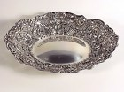 Victorian English Sterling Silver Reticulated Oval Dish