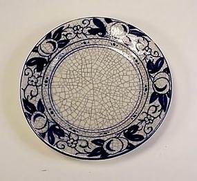 Dedham Pottery HORSE CHESTNUT 6� Plate