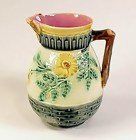 Etruscan Majolica WILD ROSE Small Pitcher