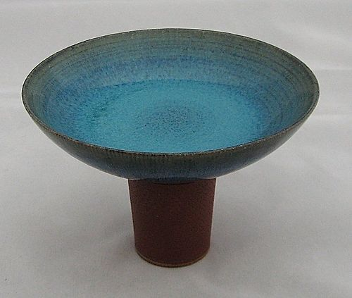 FARSTA BOWL ON PEDESTAL BY KAGE