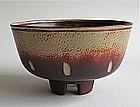 Fantastic Fasta Bowl on Four Feet by Wilhelm KÃ¥ge