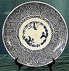 Japanese imari karakusa plate