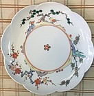 Very fine Japanese Kakiemon flower design plate