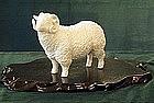 Very Fine Japanese studio sheep Hirado Style