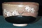 Nice Japanese Makuzu Kozan tea bowl