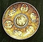 Beautiful Japanese Imari  12in plate
