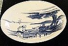 Japanese Hirado Tokaido Plate
