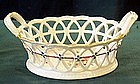 Antique Germany Furstenberg basket Meissen