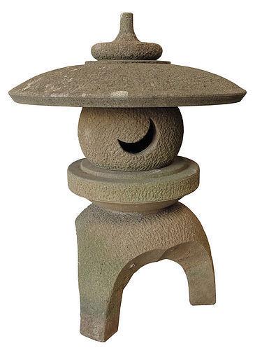 Vintage Japanese Stone Lantern for Garden