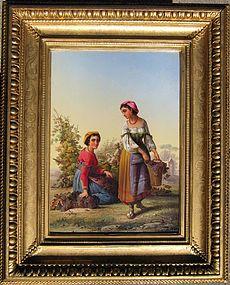 Italian Women in Costume: John.L.Chapman