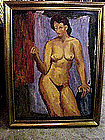 Nude in Interior by John Ulbricht