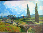 Italian Tuscany Landscape: Gera Zorad