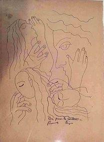 Quatre Femmes:  Fernand Leger