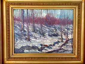 Impressionist Trees in Bucks County: Edward Redfield