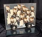 Plexiglass,Chairs,Tires: Robert Rauschenberg (attrib)
