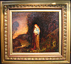Landscape: Red Haired Woman & Child: Claude Buck