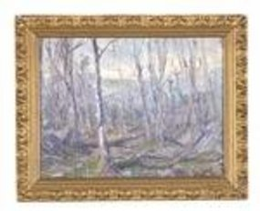 Impressionist November Landscape: Hal Robinson