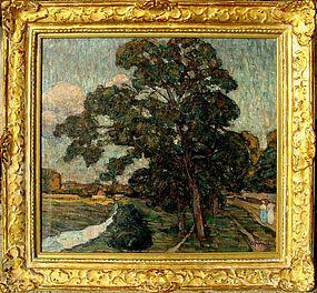 Impressionist Landscape: Carl Holm