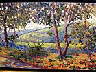 Impressionist Landscape: Eduard Berhard Toublanc