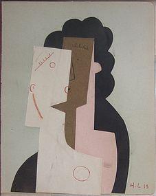 Tete Cubiste: Henri Laurens