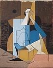 Cubiste Figure: Louis Marcoussis