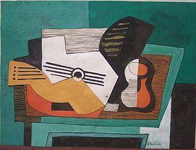 Natura Morta con Guitara: Gino Severini