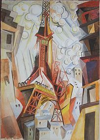 Tour De Eiffel: Robert Delaunay
