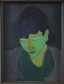Portrait of a Woman in Green: Marsh Avery