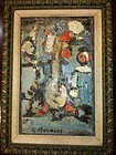 Vase De Fleurs: Georges Rouault