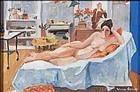 Impressionist Nude in Studio: Warren Brandt
