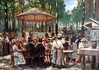 Afternoon in the Park: Bartholomeus Schouten