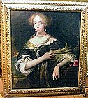 Aristocratic English Lady: School of Peter Lely