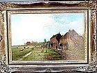 Dutch Farm with Animals:Willem Vester