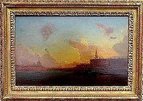 Venice at Dusk: Henri Duvieux