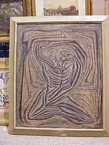 JM De Servin - Large Modernist Figure
