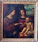 Marriage of St Catherine: Manner of Bernardino Luini