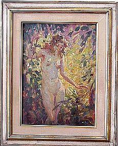 Nude in Forest: Glen Scheffer