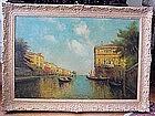 Venice Canal Scene: Nicolas Briganti