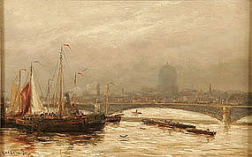 Blackfriars Bridge in London: Gerard Van der Laan