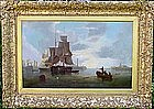 Ship in Harbor: James Wilson Carmichael