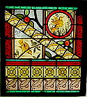 Stained Glass Window: circa 1900