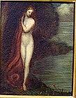 Redhead Nude in Landscape: Claude C Buck