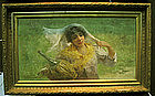 Portrait of Lady: Charles J Arter