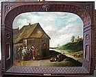 Landscape with Peasants: After David Teniers