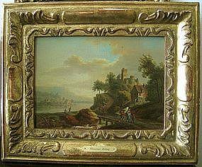 Landscape with Peasants: Christian Schutz