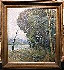 California Impressionist Scene: Rafael Vera de Cordoba
