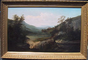 Landscape with Waterfall: William Frerichs