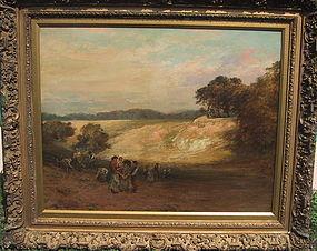 Potato Gatherers: Gustave Courbet