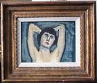 Portrait of Lady: Raphael Soyer, N.A. (attrib)